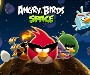 сердитые птицы в космосе