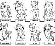 игра раскраска щенячий патруль играть онлайн бесплатно