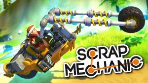 Как начать играть в scrap mechanic