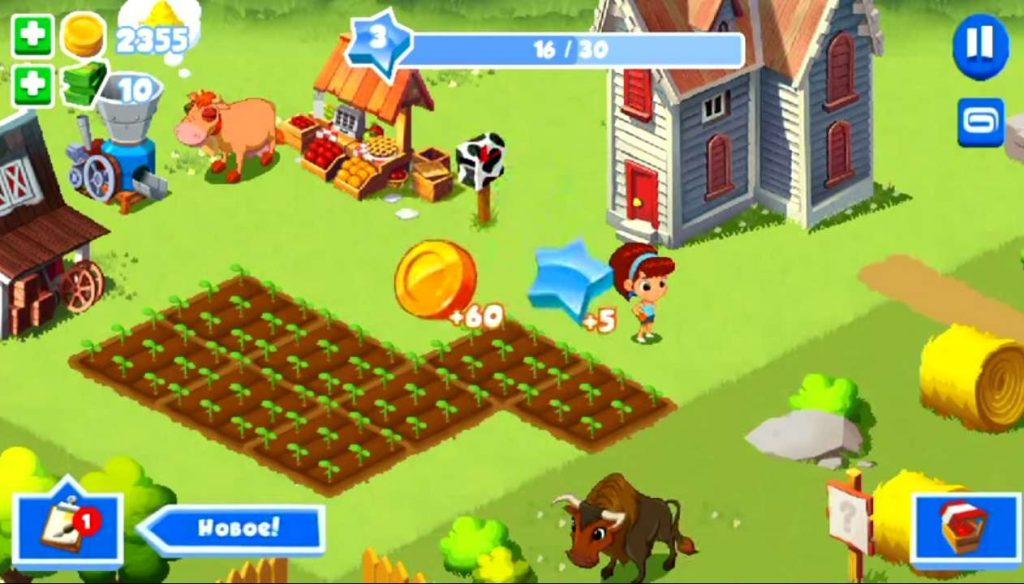 Зеленая ферма 3 на Андроид скачать русскую версию
