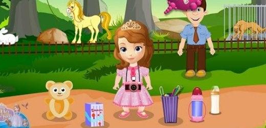 Игры принцесса София