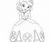 игра принцесса софия раскраска играть онлайн бесплатно
