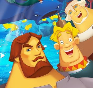 Три богатыря и Морской царь  OKRU