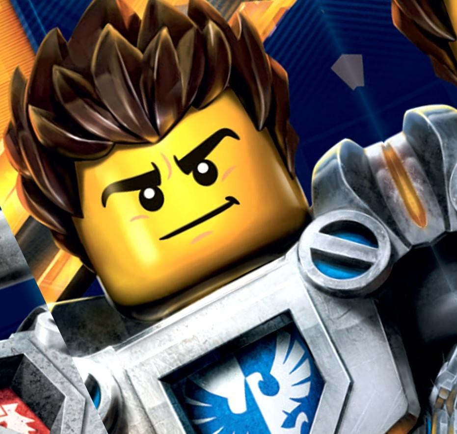 Игра раскраска Лего нексо найтс играть онлайн бесплатно