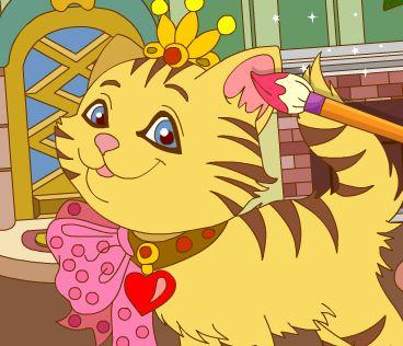 Раскраски антистресс: Кошки онлайн