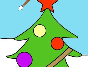 Игра Новогодние раскраски играть онлайн бесплатно