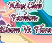 Одевалки Блум и Флора
