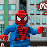 Игры Лего человек Паук играть онлайн бесплатно